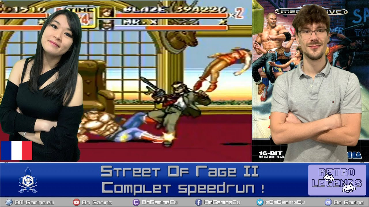 Streets of rage 2 gameplay complet