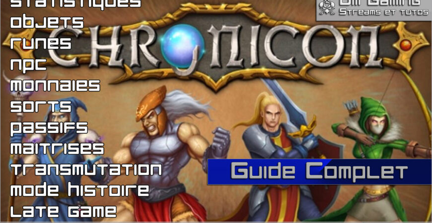 guide complet chronicon