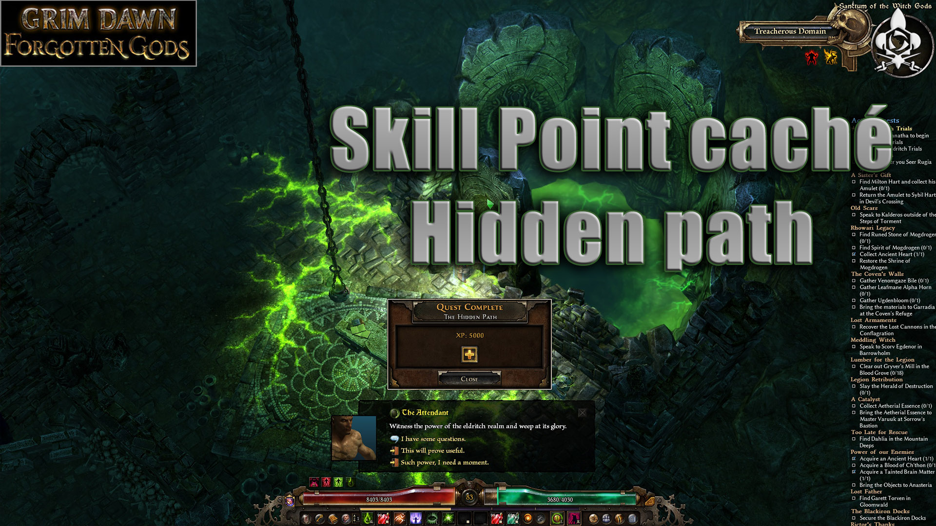 grim dawn skill hidden point
