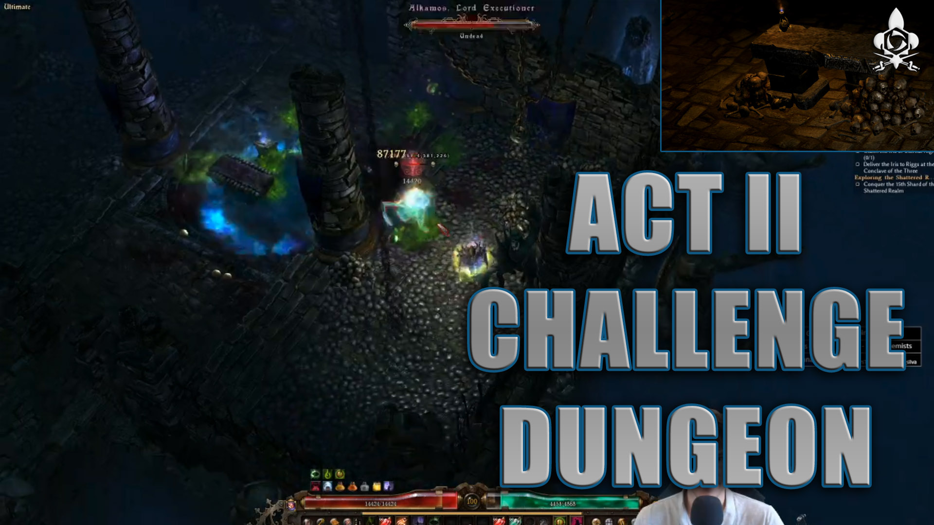 act II dungeon challenge