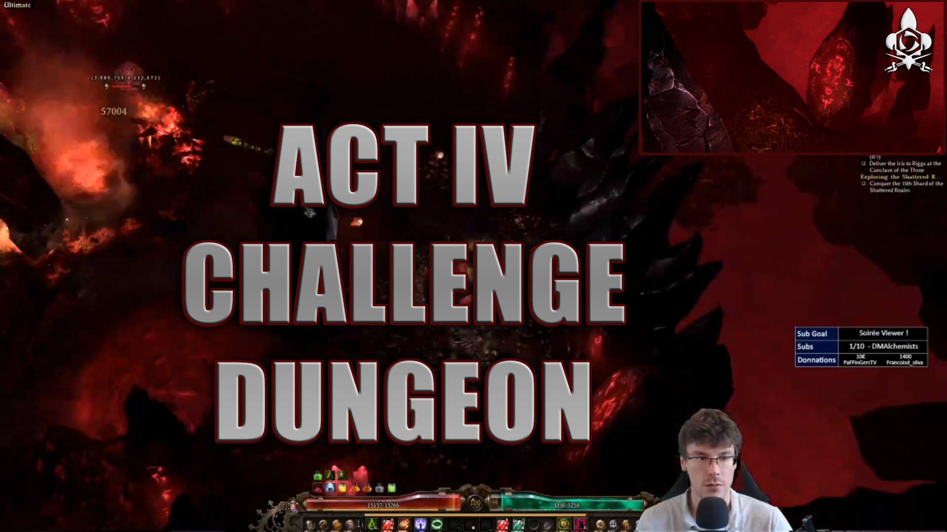 Act 4 dungeon challenge