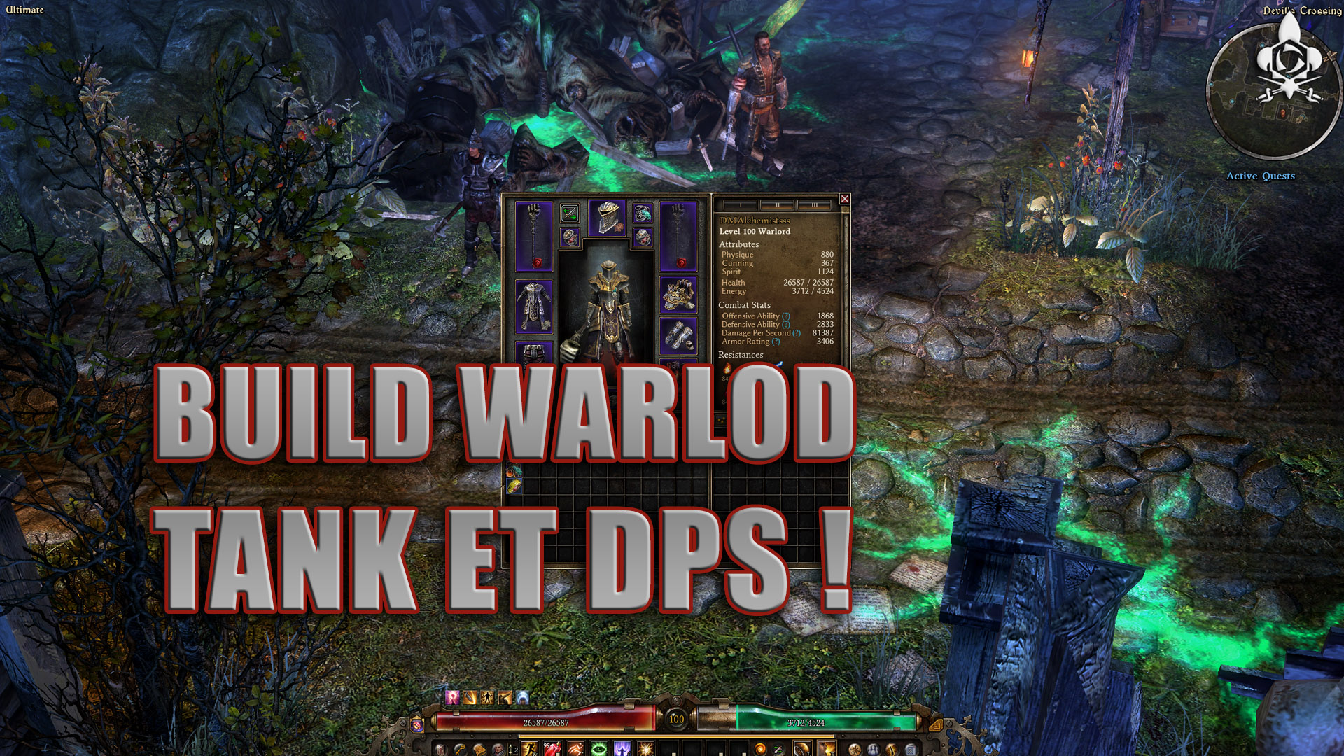 Build Warlord Tank and DPS