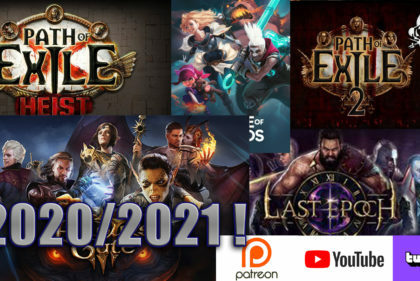 2020-2021: Review and future games covered by DM Gaming!
