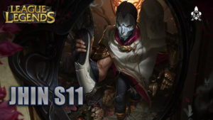 JHIN s11 league of legends dm gaming