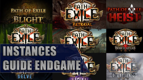 Guide des instance endgame Path of Exile