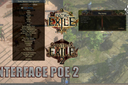 Path of Exile 2 already in POE: interface of several PNJs!