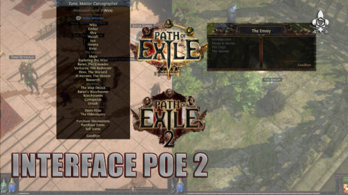 Interface path of exile 2