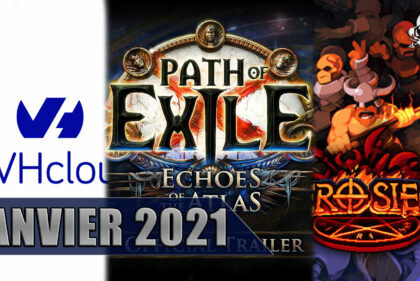 January 2021: Path of Exile, Hero Siege, and Hosting