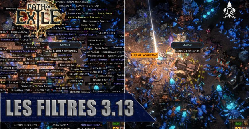 Filtres Path of Exile 3.13