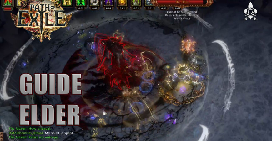 Elder Path of Exile: guide and collect the Watcher's eye