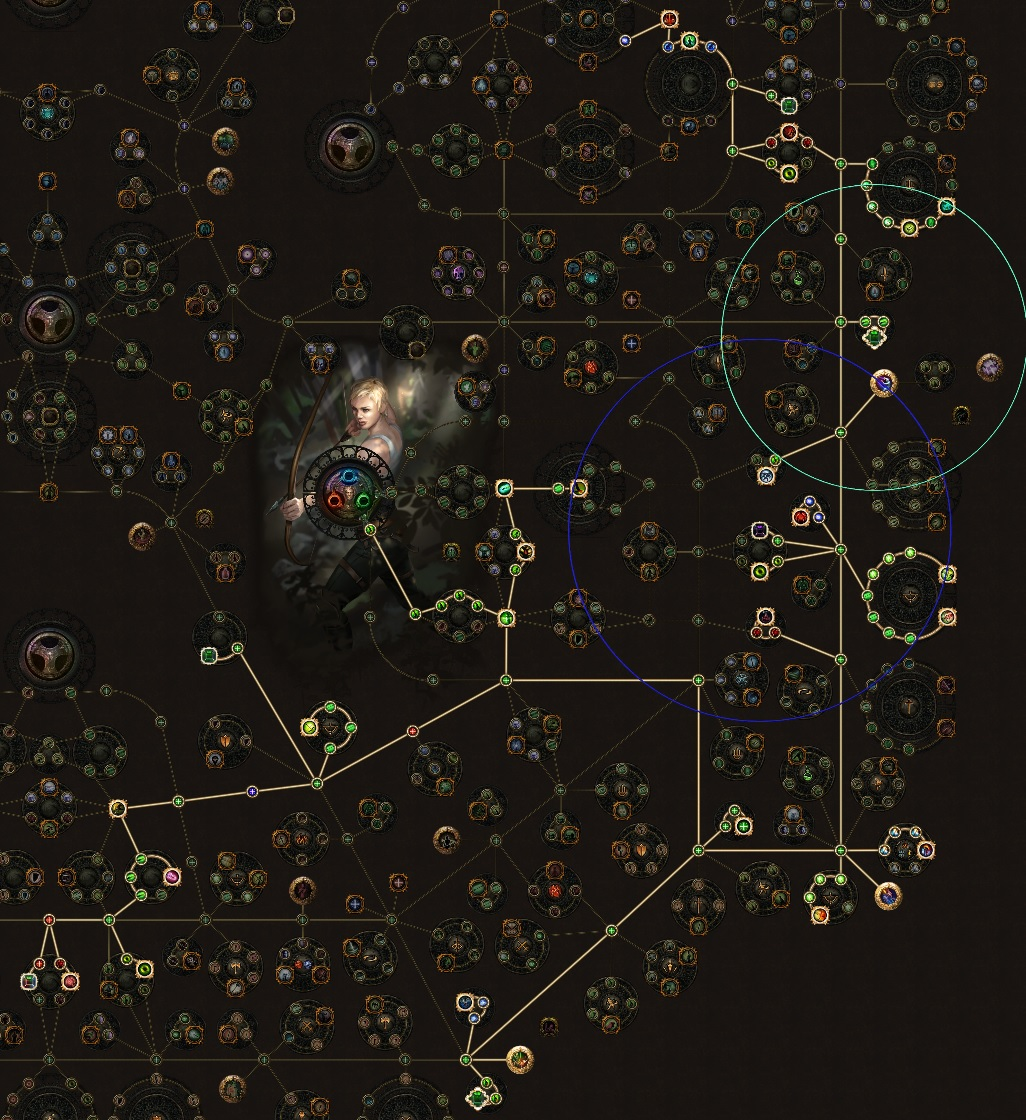 Passives Tree Pathfinder Lightning Arrow 3.13 Path of Exile, one shoot les maps T16 !
