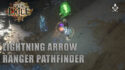 Pathfinder Lightning Arrow 3.13 Path of Exile, one shoot the T16 maps!