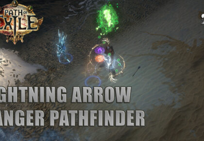 Lightning Arrow Pathfinder speedclear 3.13 Path of Exile