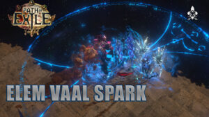 Witch Elementalist Vaal Spark Archamage full content Path of Exile 3.13 asu