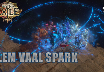 Elementalist Vaal Spark Archmage full content POE 3.13