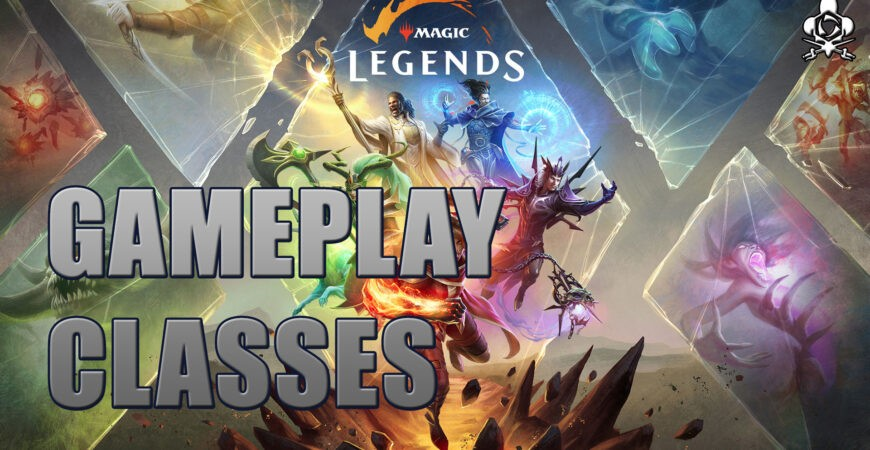 Magics Legends Gameplay and classes, game overview!