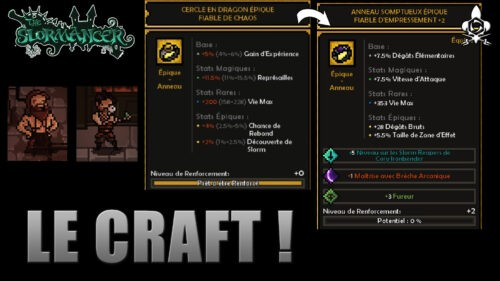Craft The Slormancer le guide pour améliorer ses items