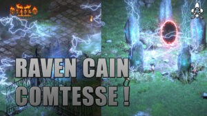 Gameplay Diablo 2 Resurrected Raven, Cain, Countess