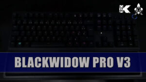 Razer Blackwidow V3 PRO Keyboard, unboxing and testing