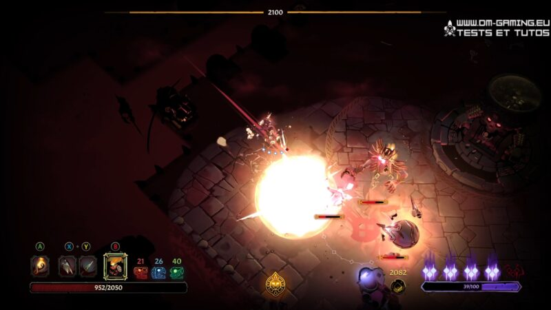 graphismes curse of the dead gods dm gaming